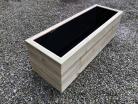 Cuboid Decking Planter 1500mm x 400mm 3 Tier