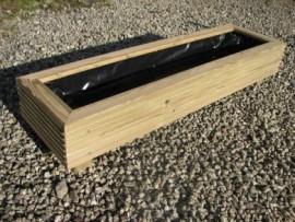Cuboid Decking Planter 1000mm x 300mm 1 Tier
