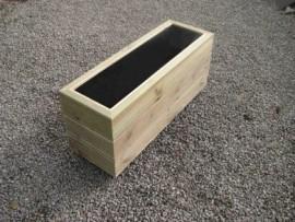 Cuboid Decking Planter 1000mm x 300mm 3 Tier
