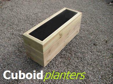 Cuboid Planters